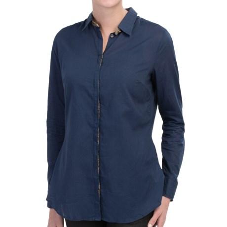 Lightweight Cotton Shirt - Long Sleeve (For Women)