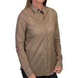 Floral Print Shirt - Long Sleeve (For Women)