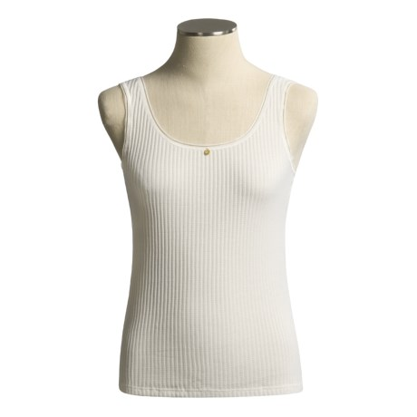 Calida Ribbed Pointelle Tank Top (For Women)