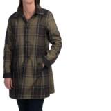 Barbour Reversible Tartan Derby Mac Trench Coat (For Women)