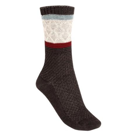 Goodhew Poplar Socks - Merino Wool Blend, Crew (For Women)