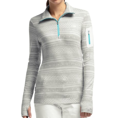 Icebreaker Bodyfit 260 Vertex Base Layer Top - UPF 30+, Merino Wool, Long Sleeve (For Women)