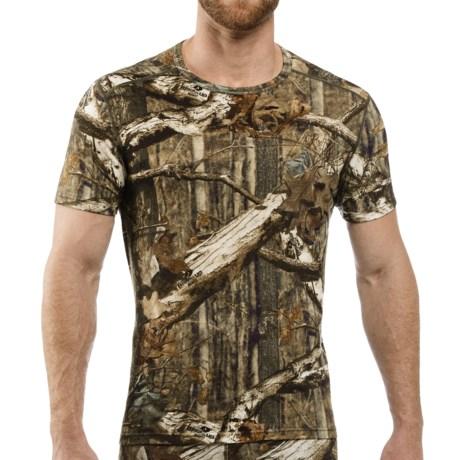 Icebreaker Bodyfit 200 IKA Mossy Oak® Base Layer Top - UPF 30+, Merino Wool, Lightweight, Short Sleeve (For Men)