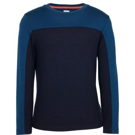 Icebreaker Bodyfit 260 Fervor Base Layer Top - Merino Wool, UPF 30+, Long Sleeve (For Kids)
