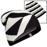 Icebreaker Valor Beanie Hat - UPF 20+, Merino Wool, Reversible (For Men and Women)