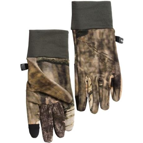 Icebreaker Sierra Mossy Oak® Gloves - Merino Wool, Touch-Screen Compatible (For Men and Women)
