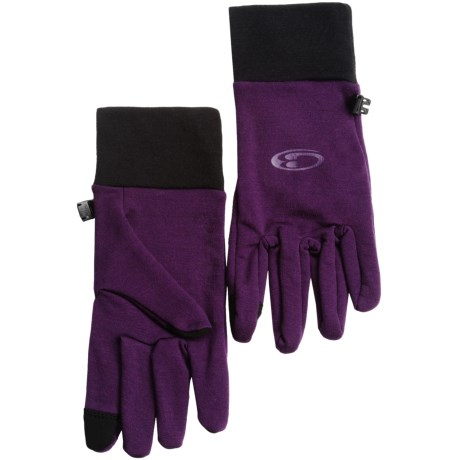 Icebreaker Sierra Gloves - Merino Wool (For Men and Women)