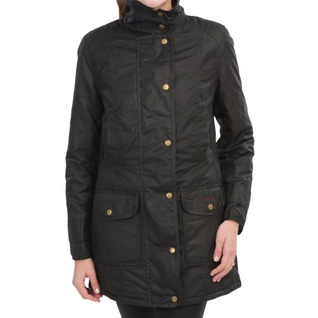 Barbour Squire Jacket - Waxed Cotton (For Women)