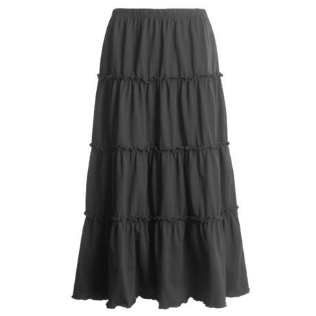 Joan Vass Prairie Skirt - Cotton Knit (For Women)