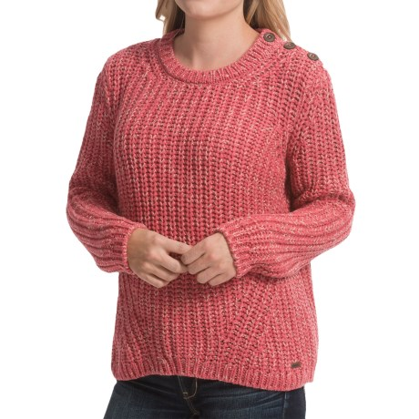 Barbour Cotton Crew Neck Sweater (For Women)