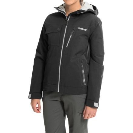 Marmot Horizon Ski Jacket - Waterproof, Insulated (For Women) in Black - Closeouts