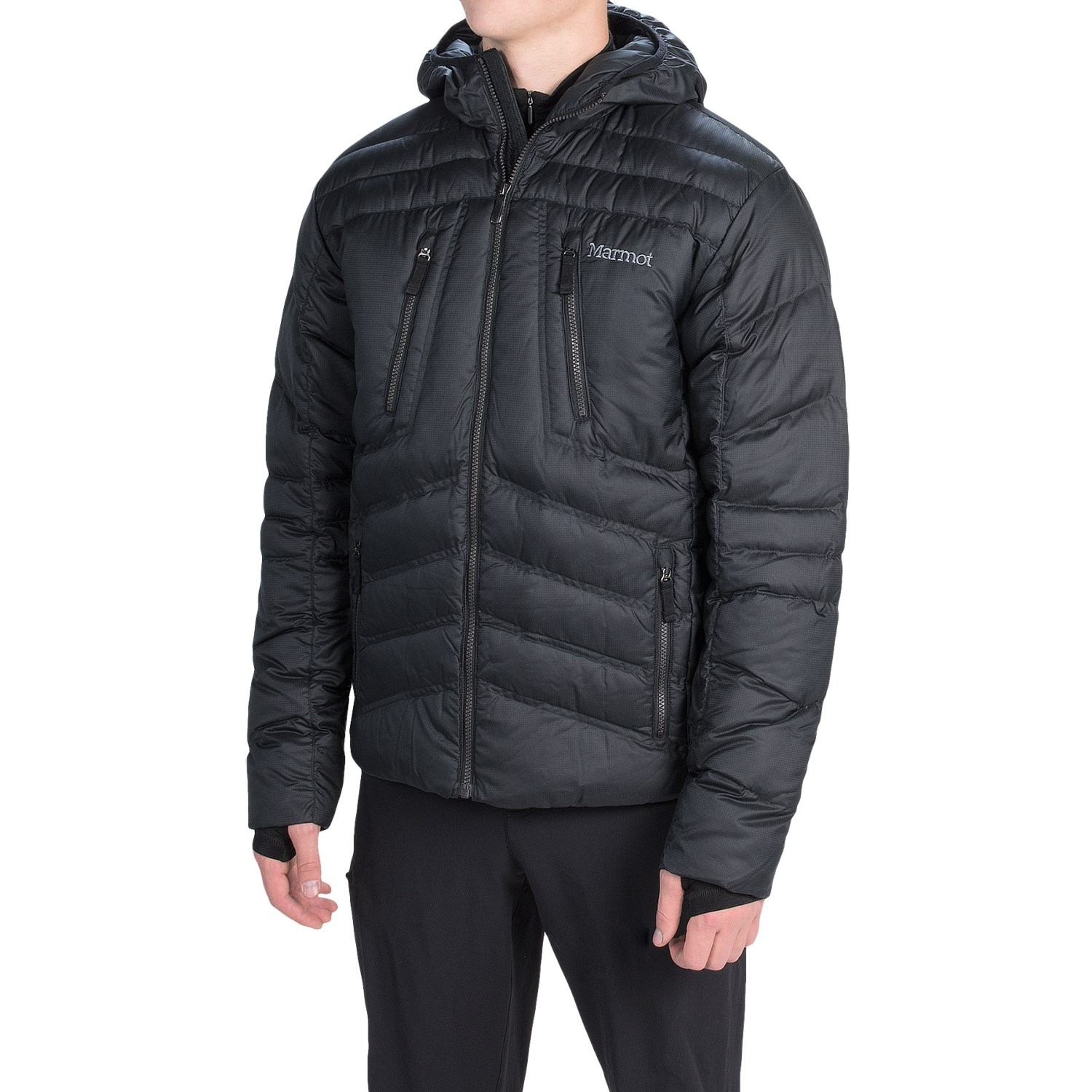 Marmot Aerial Hooded Down Jacket (For Men) 8725M