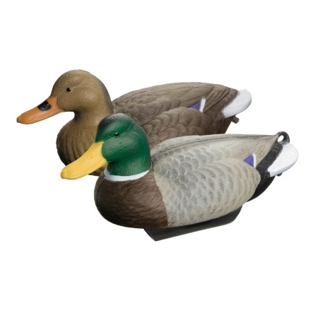 Flambeau Mallard Duck Water Keel Decoys - 12