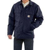 Carhartt Flame-Resistant Duck Traditional Coat - Quilt-Lined, Factory Seconds (For Big and Tall Men)