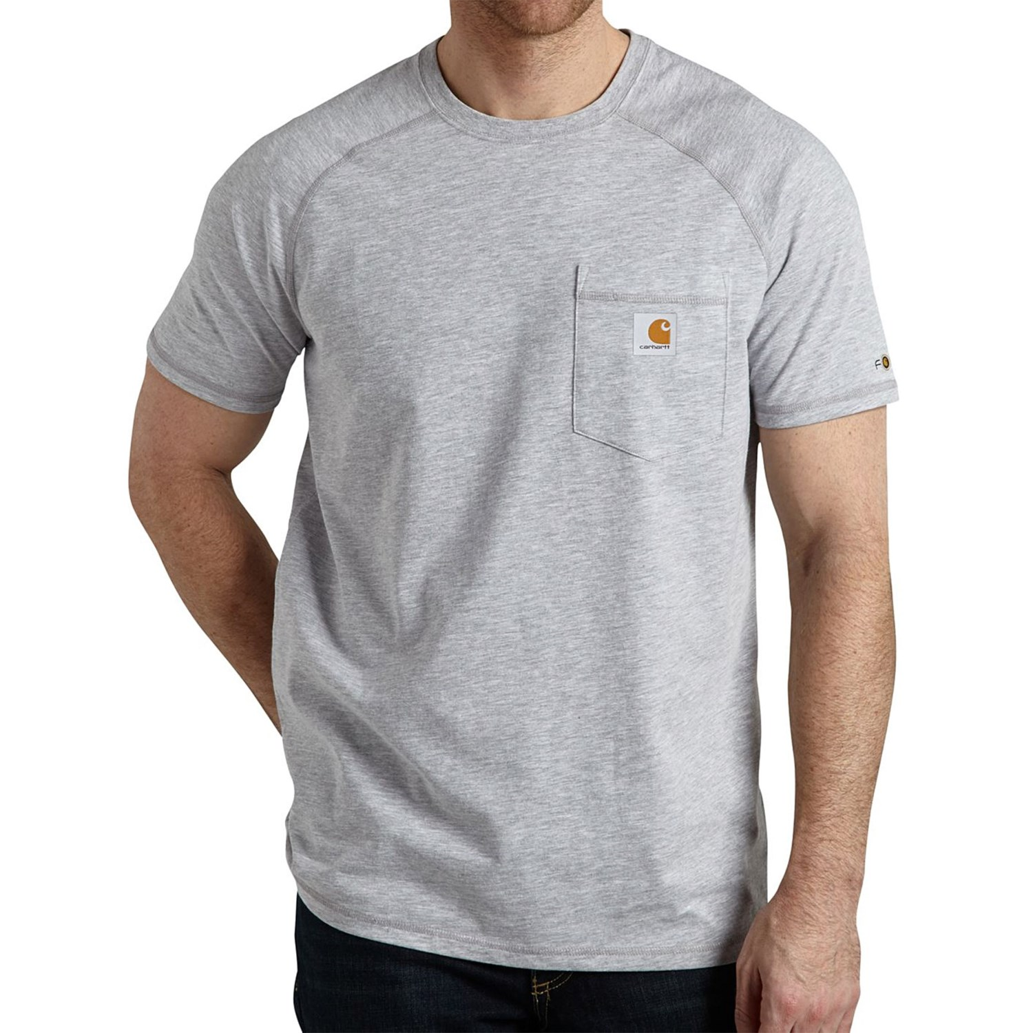 Carhartt force t shirt for big and tall men 8734g for Mens tall t shirts