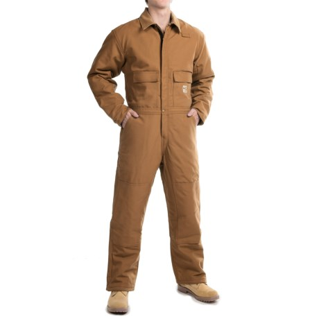 Carhartt Flame-Resistant Duck Coveralls - Insulated, Factory Seconds (For Men)