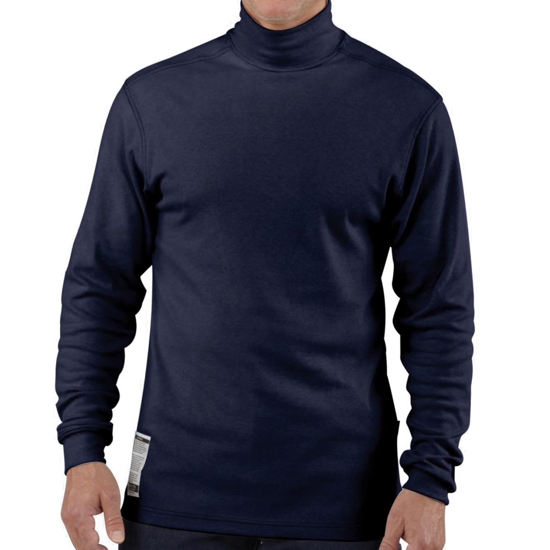 Carhartt fr flame resistant mock turtleneck for big and for Big and tall mock turtleneck shirt
