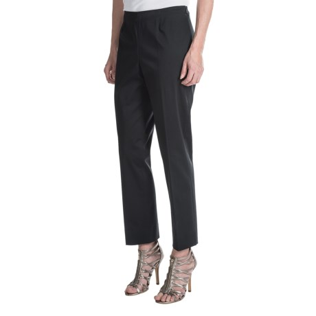 Lafayette 148 New York Stretch Cotton Sateen Ankle Pants (For Women)