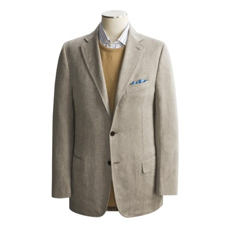 Isaia Cotton-Linen Sport Coat - Unconstructed (For Men)