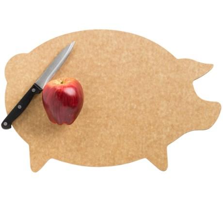 Epicurean Pig Shape Cutting Board