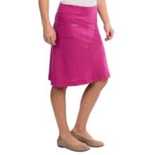 Icebreaker Villa Skirt - Merino Wool, UPF 30+ (For Women) in Magenta - Closeouts