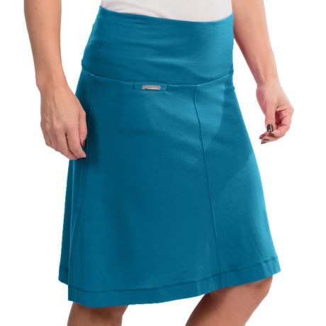 Icebreaker Villa Skirt - Merino Wool, UPF 30+ (For Women)