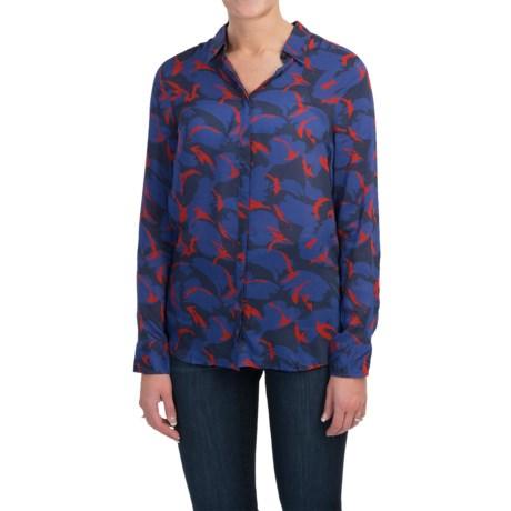 Barbour Viscose Shirt - Long Sleeve (For Women)