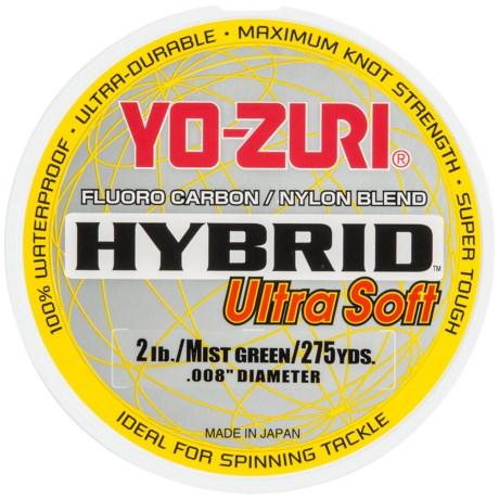 YO-ZURI Yo-Zuri Hybrid Ultra Soft Fishing Line - 275 Yards
