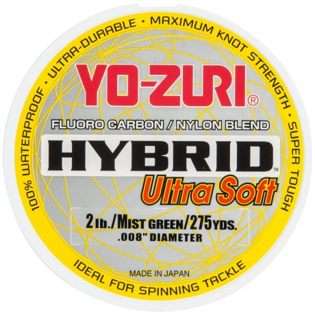 Yo-Zuri Hybrid Ultra Soft Fishing Line - 275 Yards
