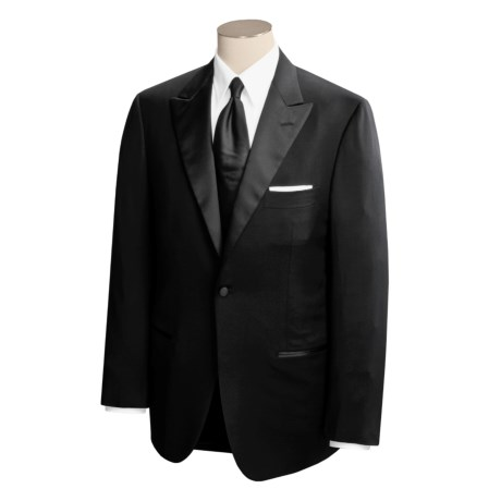 Isaia Aquaspider Tuxedo Suit - Wool (For Men)