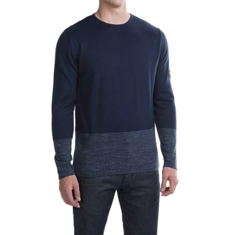 Barbour International Rake Cotton Sweater - Crew Neck (For Men)