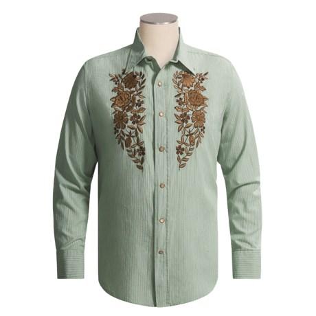 Brooks & Dunn by Panhandle Slim Stripe Shirt - Western, Long Sleeve (For Men)