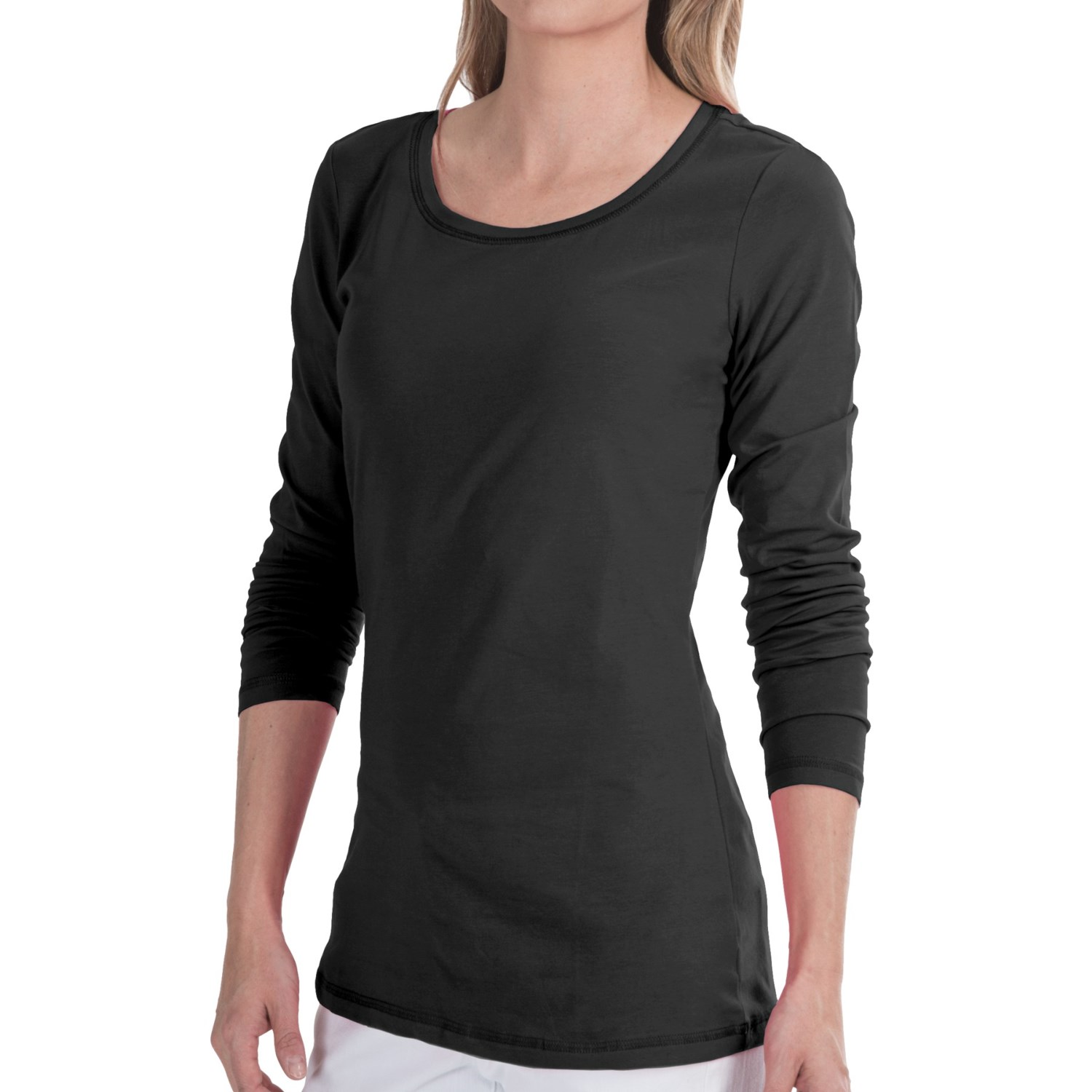Stretch Cotton Jersey Shirt For Women 8785u Save 71