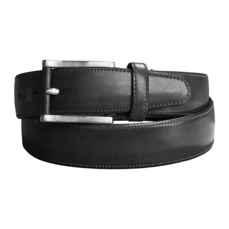 Tardini Old England Classic Leather Belt (For Men)