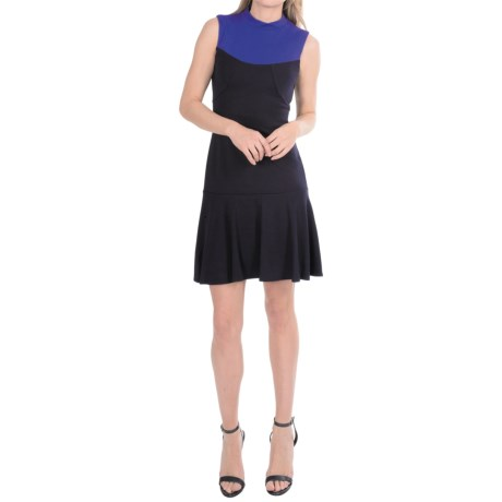 Muse Color-Block Knit Dress - Sleeveless (For Women)