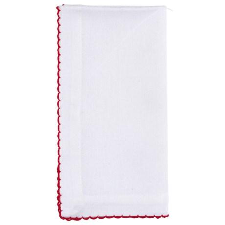Stitch & Shuttle Saanvi Fabric Napkins - Cotton, Set of 4