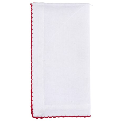 Stitch & Shuttle Saanvi Fabric Napkins - Cotton, Set of 4