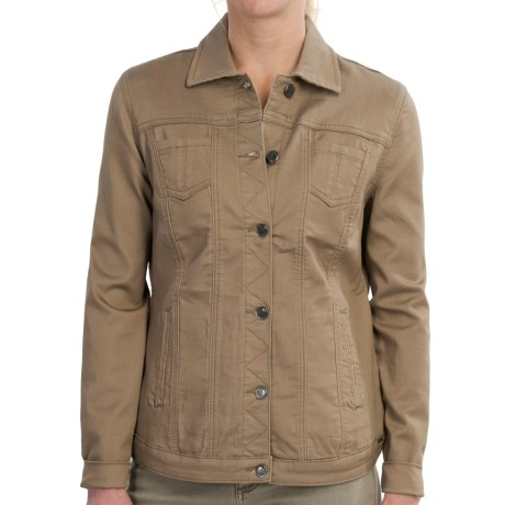 FDJ French Dressing Silktouch Jean Jacket (For Women)