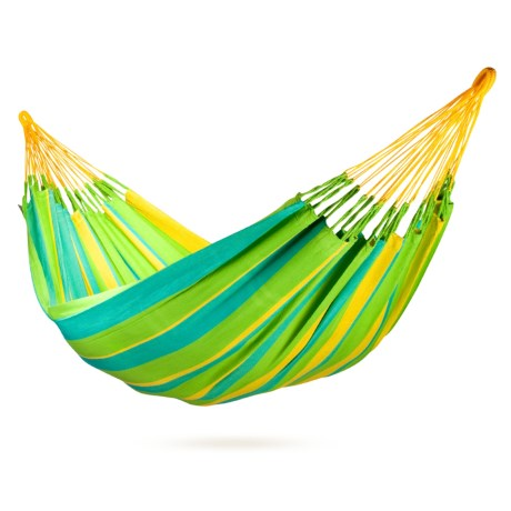 La Siesta Colombian Sonrisa Hammock - Weatherproof, Single