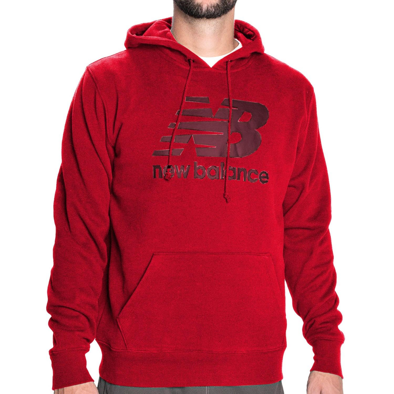 new balance essentials hoodie for men 8825f save 81. Black Bedroom Furniture Sets. Home Design Ideas