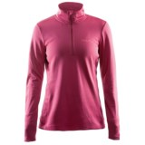 Craft Sportswear Swift Fleece Shirt - Zip Neck (For Women)