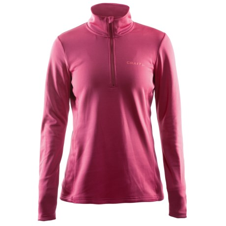 Craft Sportswear Swift Fleece Shirt - Zip Neck (For Women)