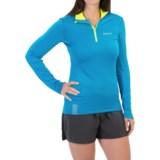 Craft Sportswear Facile Pullover Shirt - Zip Neck, Long Sleeve (For Women)