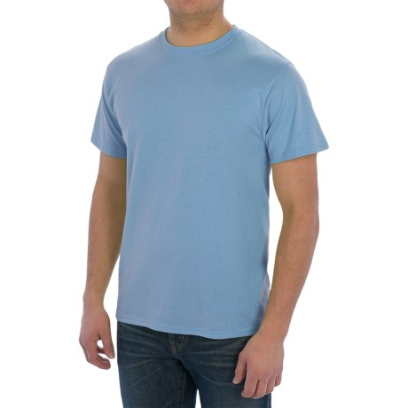 Cotton-Poly T-Shirt - Short Sleeve (For Men)
