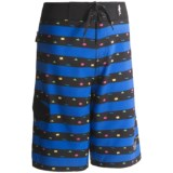 Maui & Sons Cookie Stripe Boardshorts (For Boys)