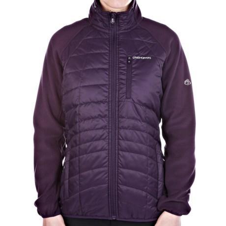 Craghoppers Kamala Fleece Jacket - Insulated, Full Zip (For Women)