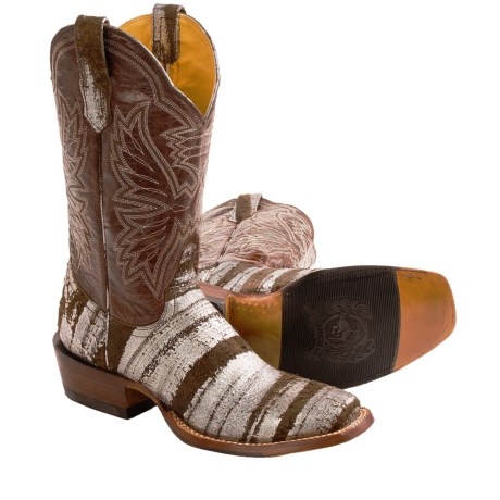 """Cinch 11"""" Square Toe Cowboy Boots (For Women)"""