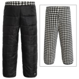 White Sierra Armor Fleece Reversible Pants - Insulated (For Toddlers)
