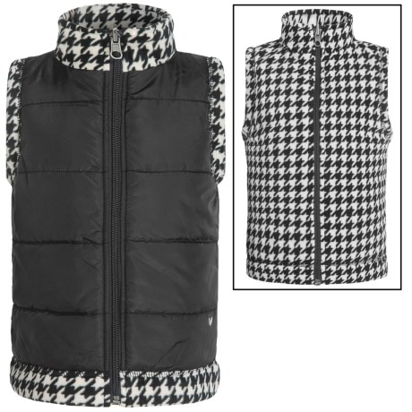 White Sierra Armor Fleece Reversible Vest (For Toddlers)