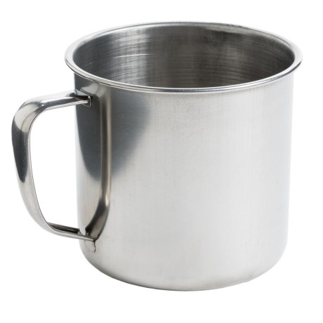 Jacob Bromwell Stainless Steel Camping Mug - Small, 14 fl.oz.